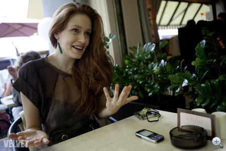 """""""Mellem is van, szám is van, jó az úgy. Akinek nem tetszik, ne dolgozzon velem"""" - Tóth Melinda nyilatkozik a Velvetnek"""