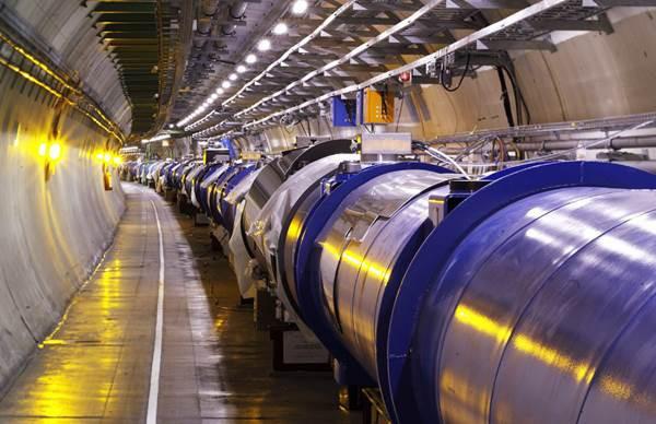 A CERN nagy hadronütköztetője