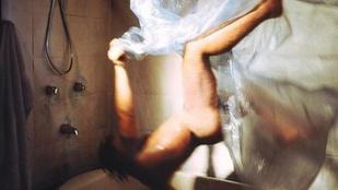 A nap képe: amikor meglát az ember egy pókot zuhanyozás közben