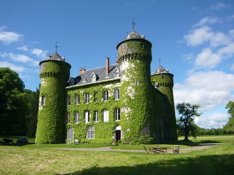 Castle Sédaiges, Marmanhac.