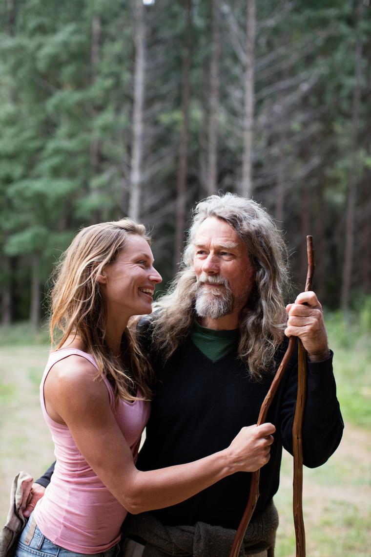 A házaspár a vadonban találta meg a boldogságot