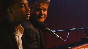 John Legend pazar zeneművet alkotott Gordon Ramsay hisztirohamaiból