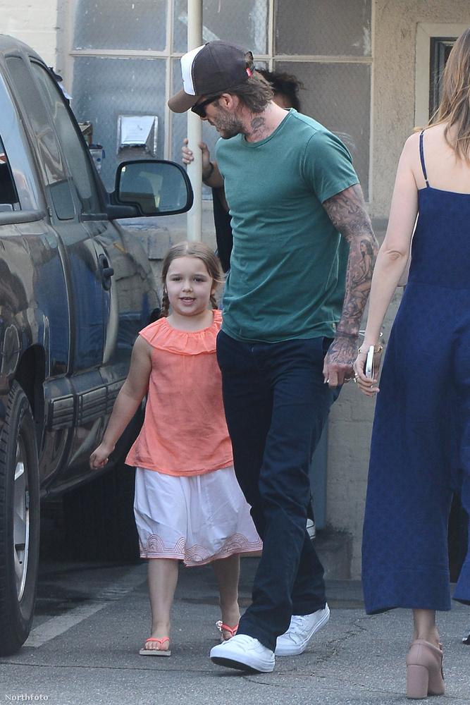Így telnek a Beckham-család hétköznapjai.