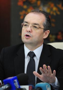 Emil Boc román miniszterelnök
