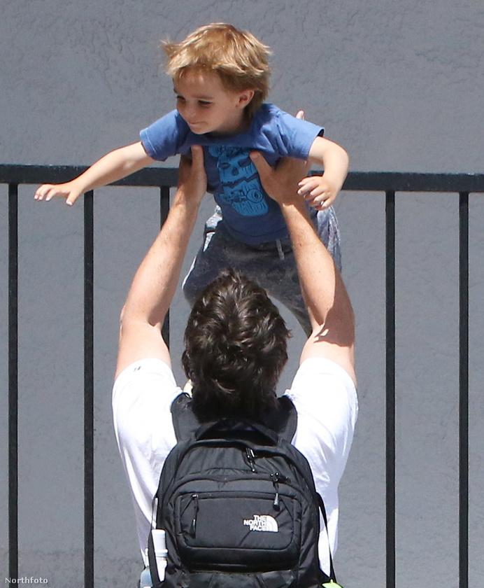 Aki élvez minden percet, amit a fiával  tölthet