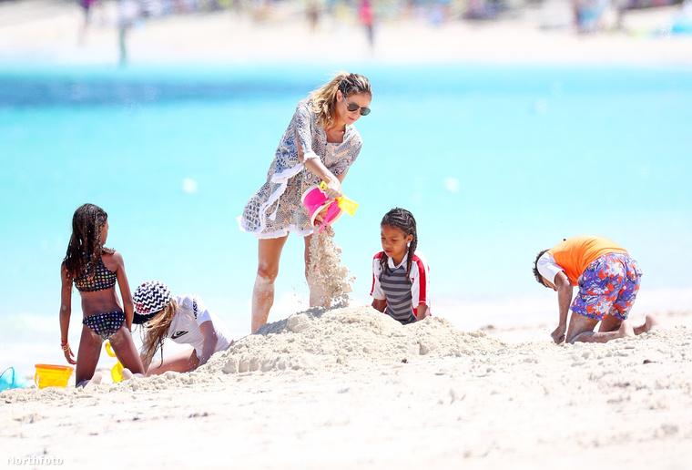 Heidi Klumnak három gyermeke született Sealtől: Henry, Lou és Johan, a negyedik lánycsemete, Helene pedig Flavio Briatorétól, a Forma-1 moguljától