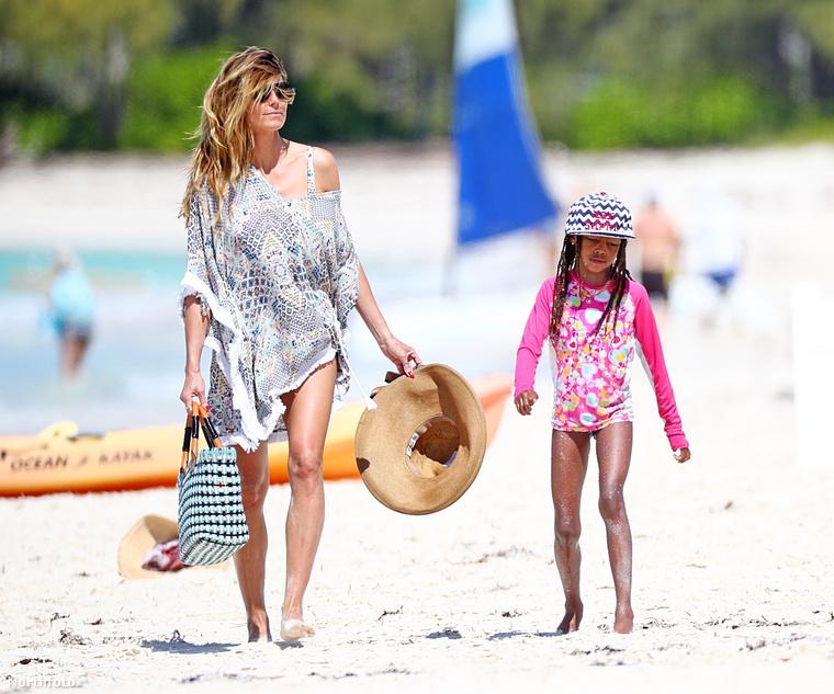 Jelenleg azonban úgy tűnik, hogy Heidi Klum - szülei hagyományait követve -megtalálta a boldogságot.Köszönjük a figyelmet!