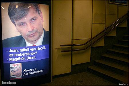 Demszky-ellenes kampányplakát 2006-ból