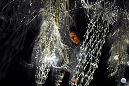 Philip Beesley: Hylozoic Ground. Erdő az Avatarból