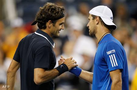 Roger Federer és Jürgen Melzer