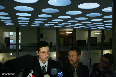 Szilvásy nem jött el a meghallgatásra (fotó: Barakonyi Szabolcs)
