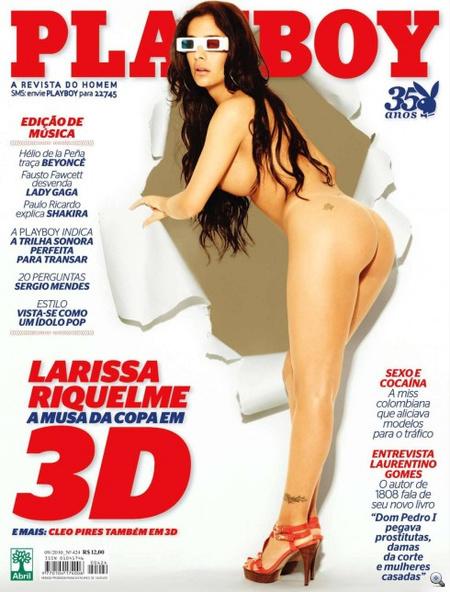 Kattintson Riquelme 3D-s pucér Playboy-sorozatáért!
