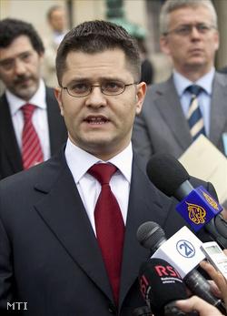 Vuk Jeremić szerb külügyminiszter (Fotó: Gerald Van Daalen)