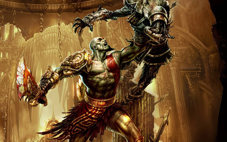 Wallpaper god of war 3