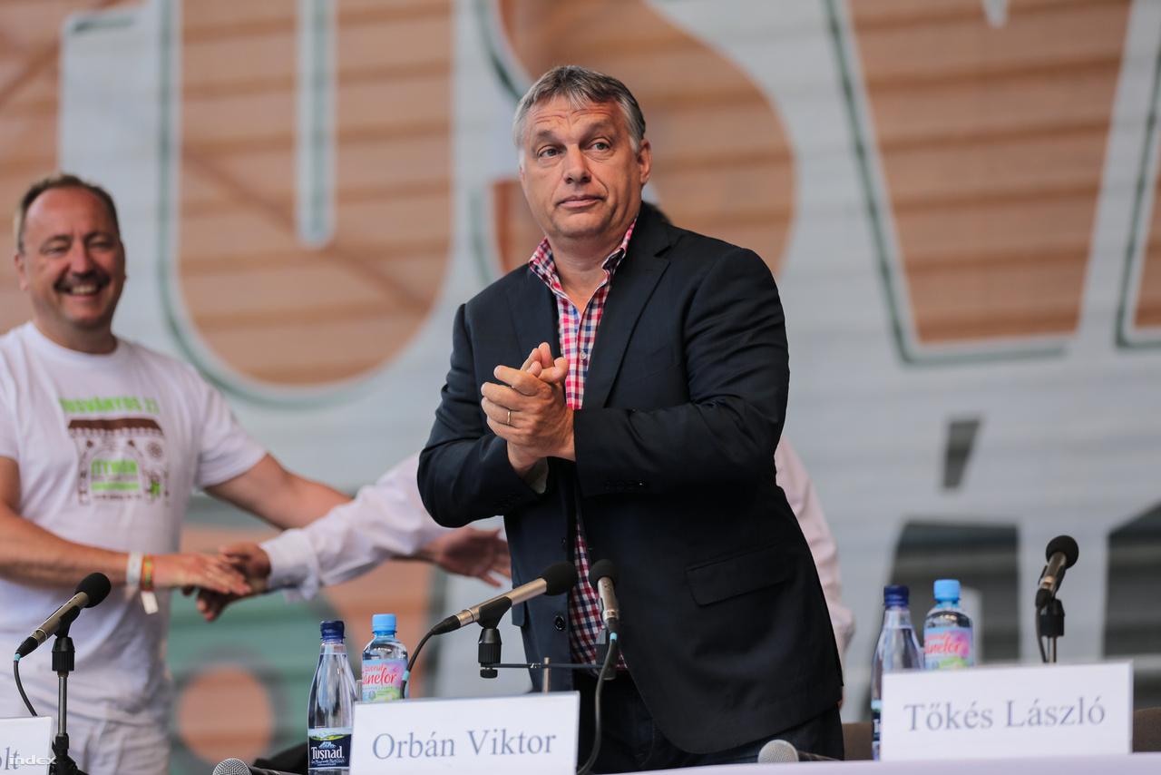 Orbán Viktor Tusnádfürdőn 2016-ban