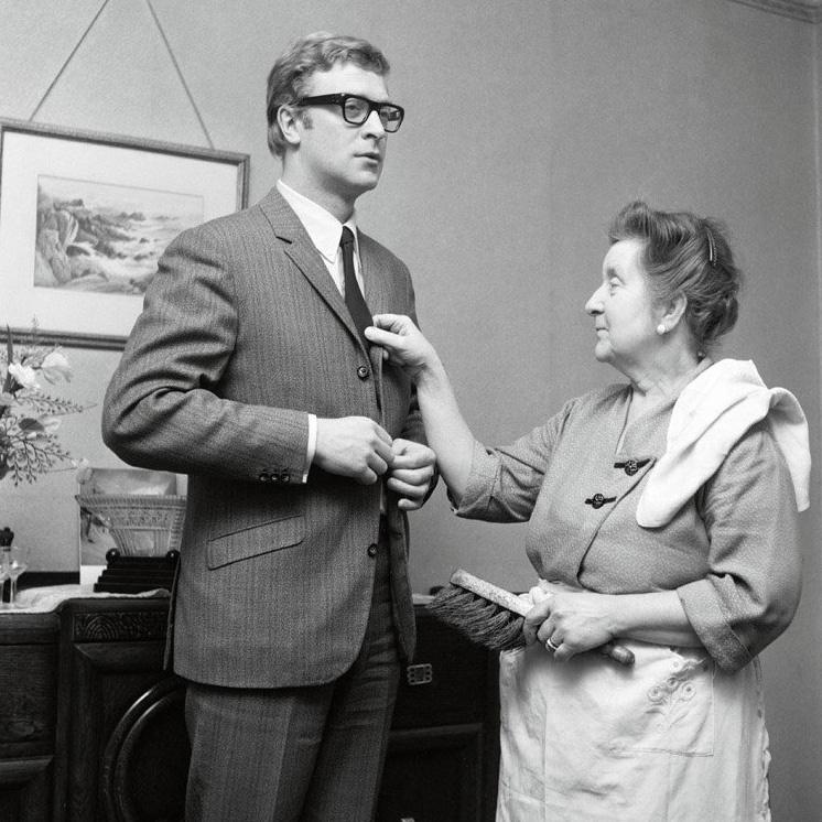 Michael Caine és édesanyja a hatvanas években