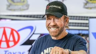 Chuck Norris tiszteletbeli texasi lett