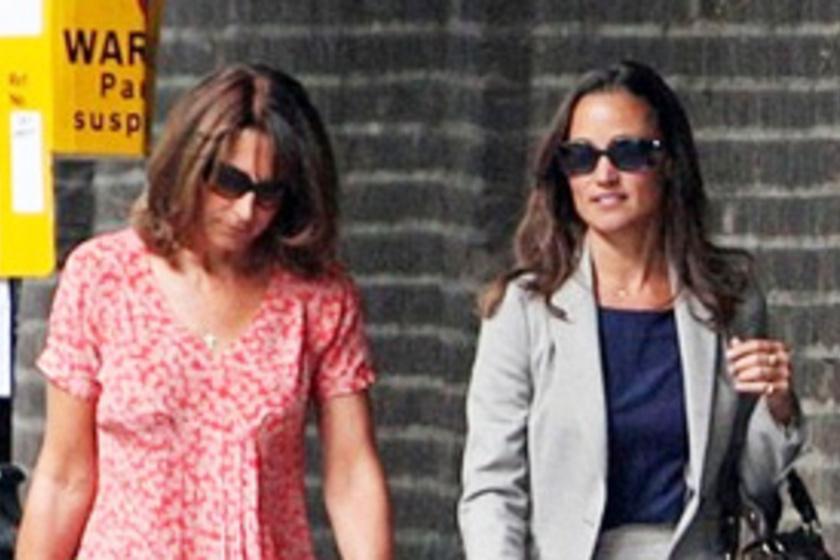 0b9659b662 Pippa Middleton fiatalos édesanyjával vásárolgatott Londonban