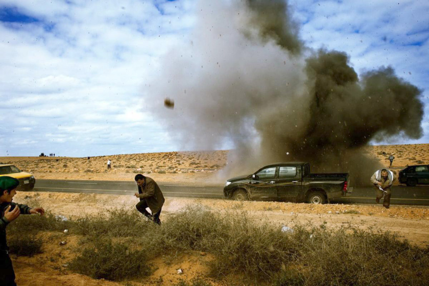 Ra\'s Lanuf, Líbia, 2011. március 9.