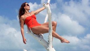 Brooke Shields már érzi a nyarat