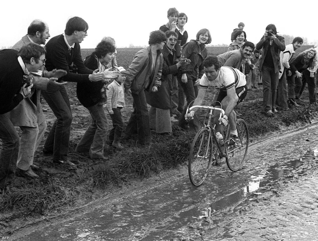 Bernard Hinault tiszta baromságnak nevezte a Paris–Roubaix-t, de azért a győzelemig szenvedte magát