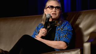 Carrie Fisher is szerepelni fog a következő Star Wars-filmben