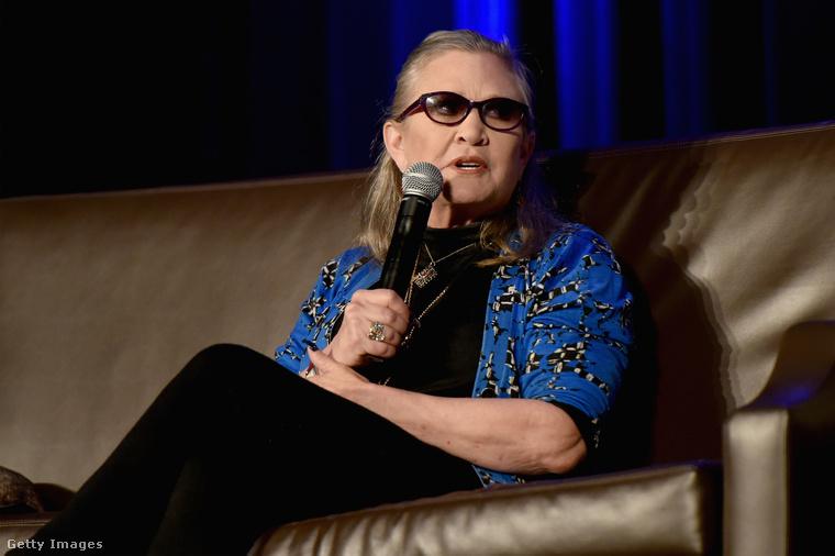 Carrie Fisher 60 évesen hunyt el