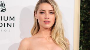 Amber Heard sietősen távozott egy gáláról, ahol díjat kapott volna