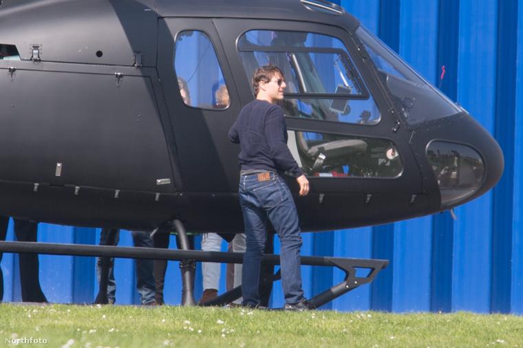 A jelek szerint helikopter biztos lesz benne, azt viszont még nem tudni, hogy Tom Cruise lóg-e rajta majd menet közben.