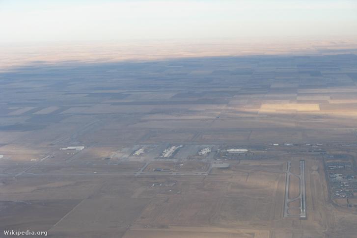 A repülőtér látképe 2011-ben