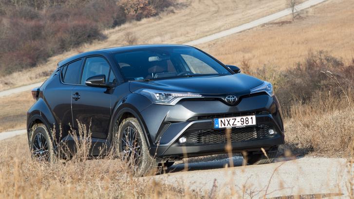 Nehéz elhinni, hogy ez egy Toyota, annyira vagány a formája