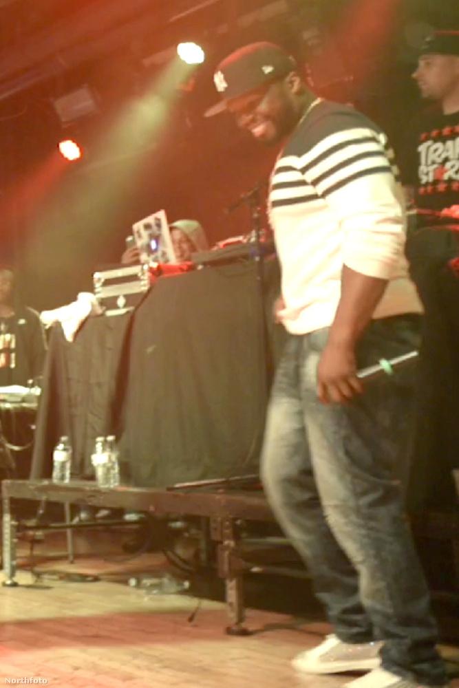 50 Cent a maryland-i Baltimore Soundstage-en koncertezett szombaton