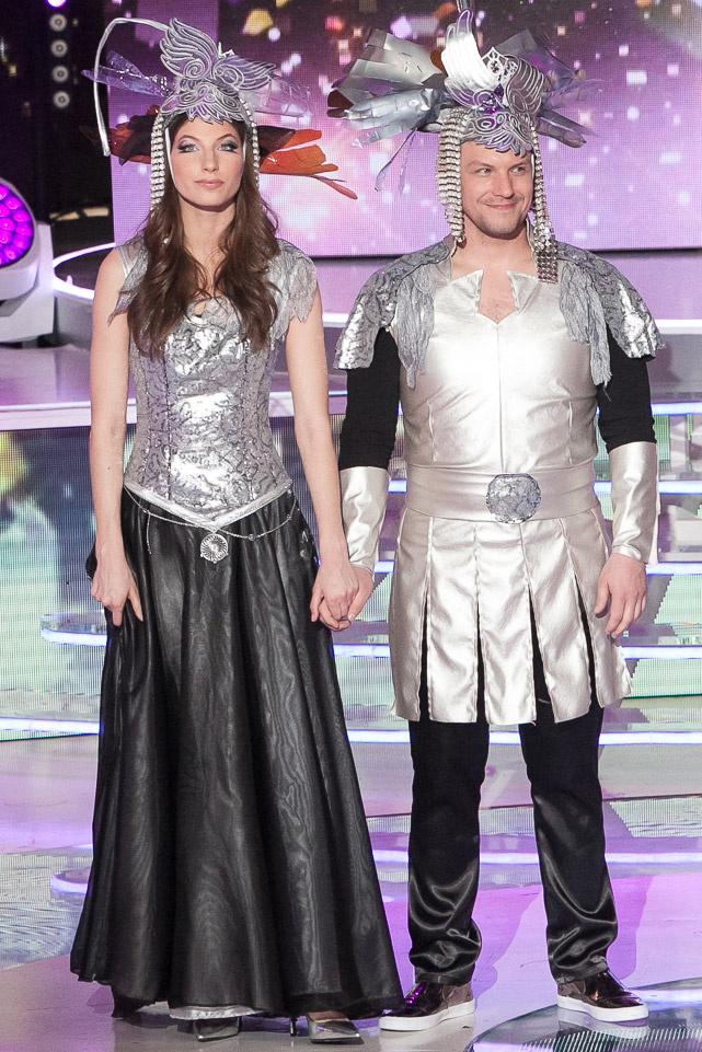 Stohl Luca és Peller Károly A Nagy Duett második adásában az Űrgammák Xénia-láz című dalával aratott nagy sikert.