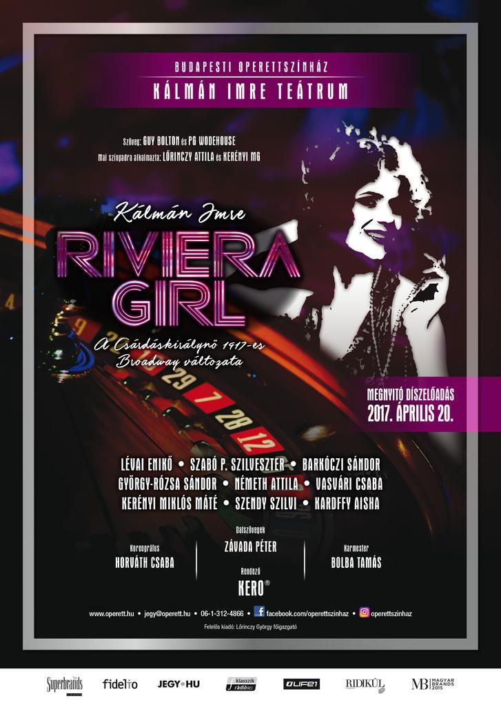 A Riviera Girl plakátja
