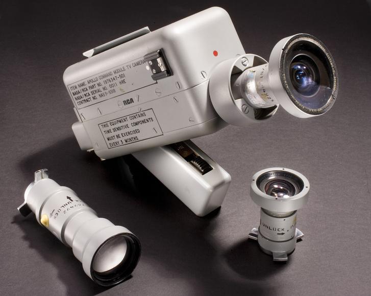 Az Apollo-7 küldetésen használt RCA kamera