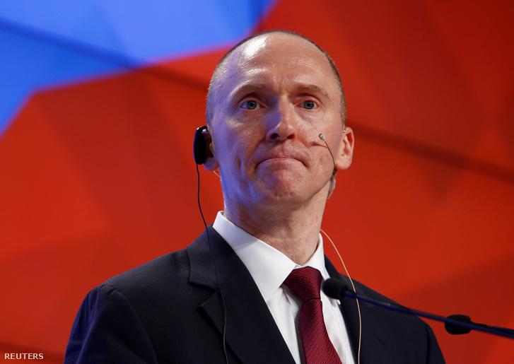 Carter Page egy 2016. decemberi moszkvai konferencián