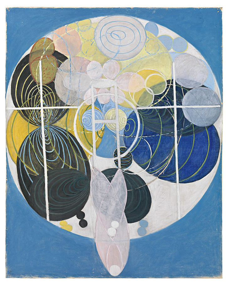 Hilma af Klint 1907 - The key to the work up to this point
