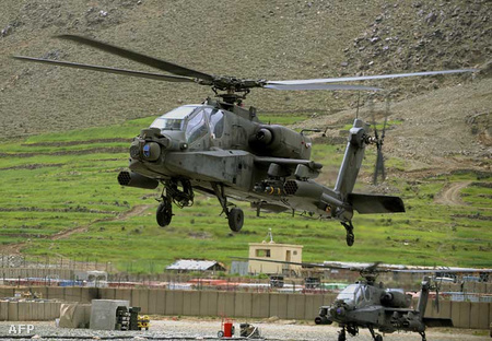Az USA legmodernebb harci helikoptere az AH-64 Apache