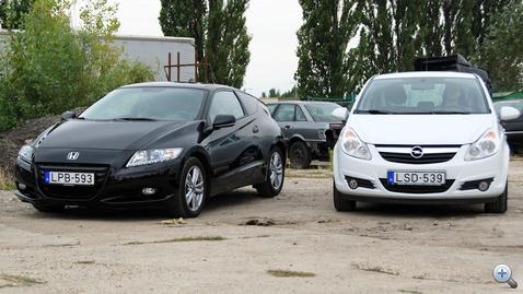 Két teljesen eltérő jármű, más-más kategória, ám a dízel sokkal kevesebbet fogyaszt a hibridnél