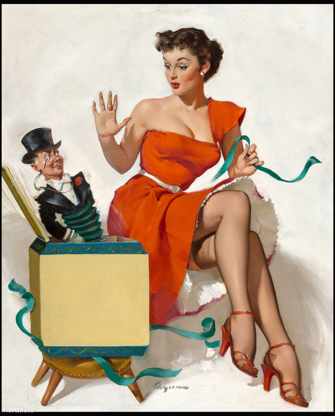 A pin up stílus kialakulása egyébként egészen a 40-es évekre tehető