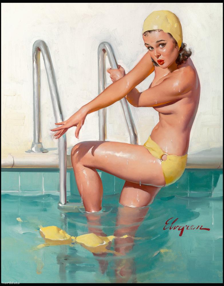 Ma már kicsit furcsa elképzelni, de a Playboy magazin megjelenése és még bőven az internet térhódítása előtt is léteztek szexi fotók, melyek főként a II