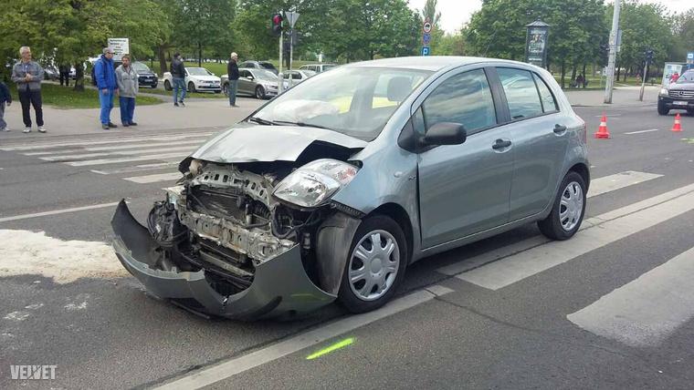 óbuda baleset