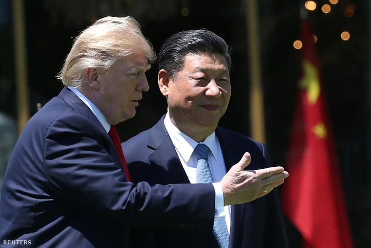 Hszi Csinping Floridában tárgyalt Trumppal