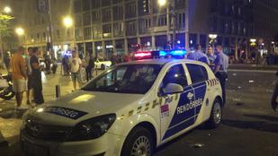 Rendőri intézkedés közben meghalt egy férfi a Rákóczi úton