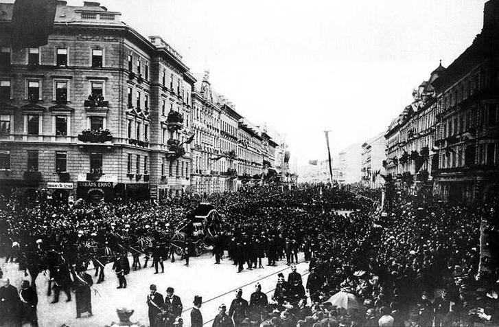 Kossuth Lajos temetése, 1894. április.1.