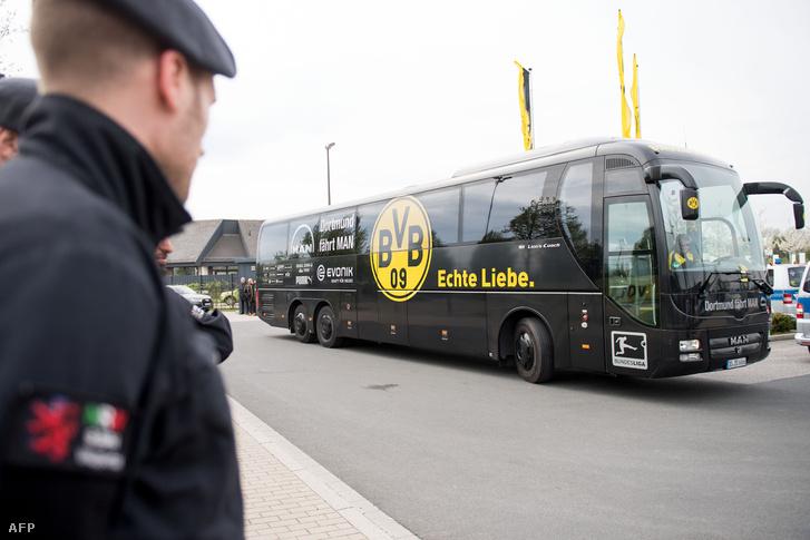 A BVB Dortmund buzsa a merénylet után