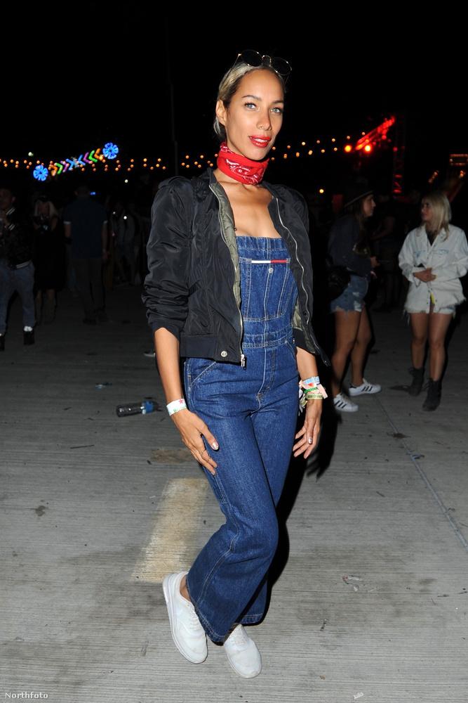 Ez is Leona Lewis, csak még a vasárnapi fesztiválnapon, valamivel decensebben.
