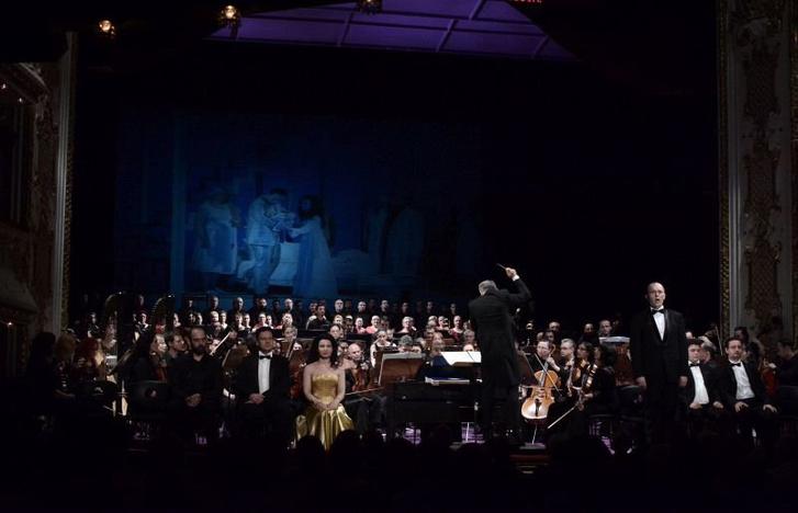 Jelenet Enescu Oidipe című operájából a 2016-os Bartók Plusz Operafesztiválon