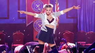 Kate Upton olyan, mintha Britney Spearsnek született volna