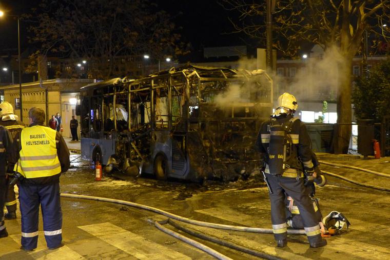 A tűzesetben senki nem sérült meg.